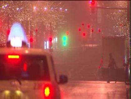 Fog causes delays on highway and in air