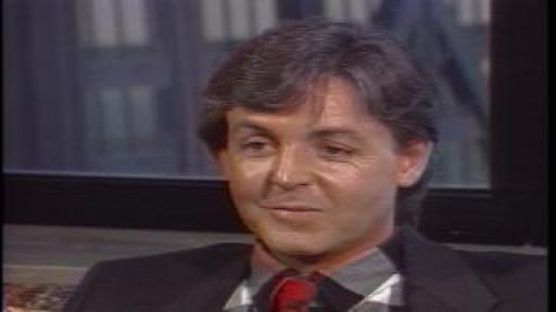 Roy Leonard interviews Paul McCartney