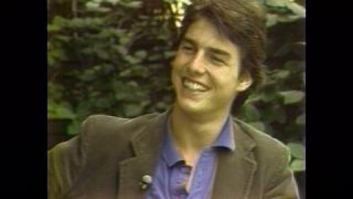 Roy Leonard interviews Tom Cruise