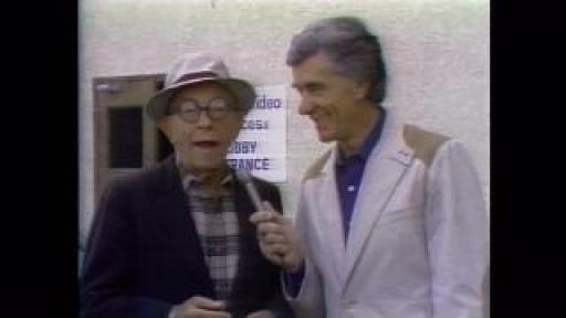 Roy Leonard interviews George Burns