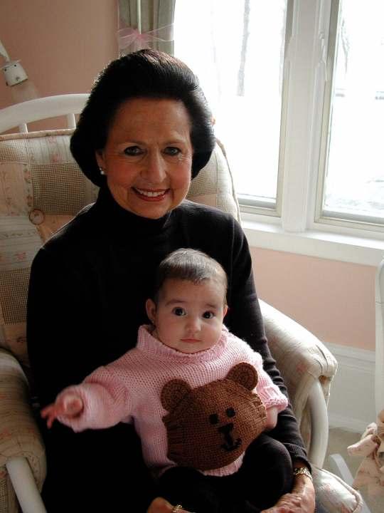 Baby Emily & Grandma Merle