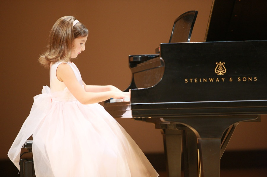 Emily at Ravinia- age 5