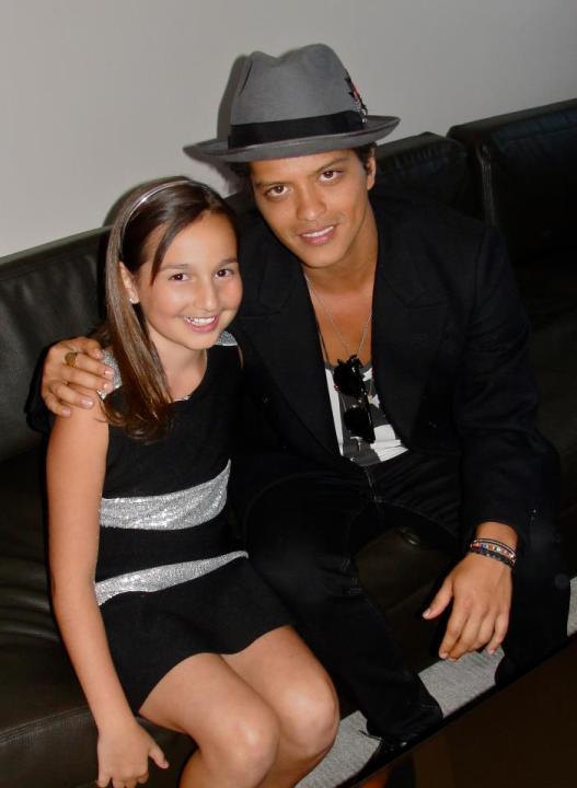 Emily & Bruno Mars