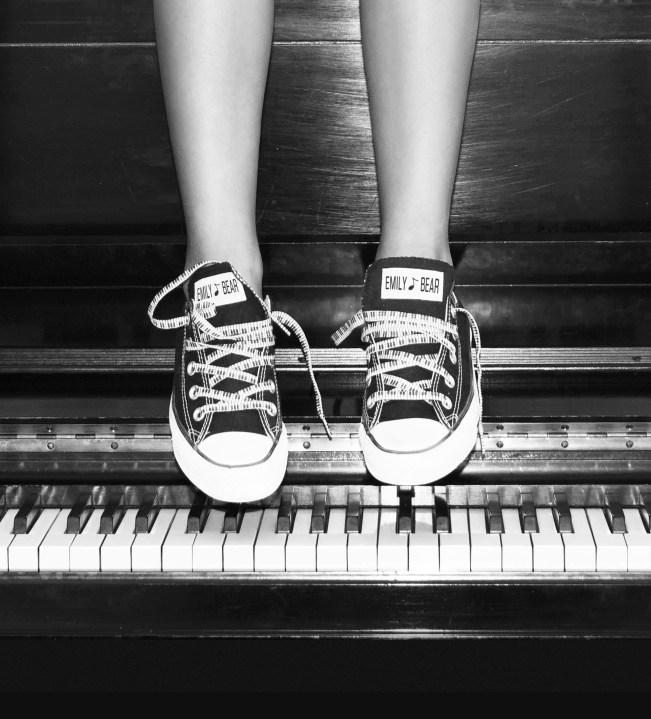 Emily & Converse shoes