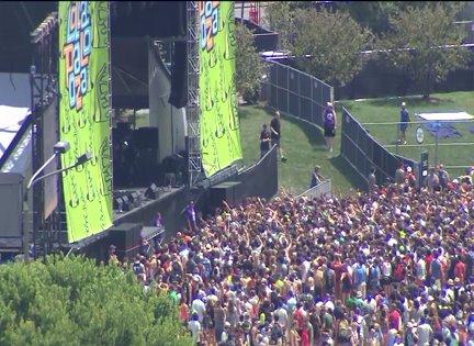 Lollapalooza kicks off at Grant Park