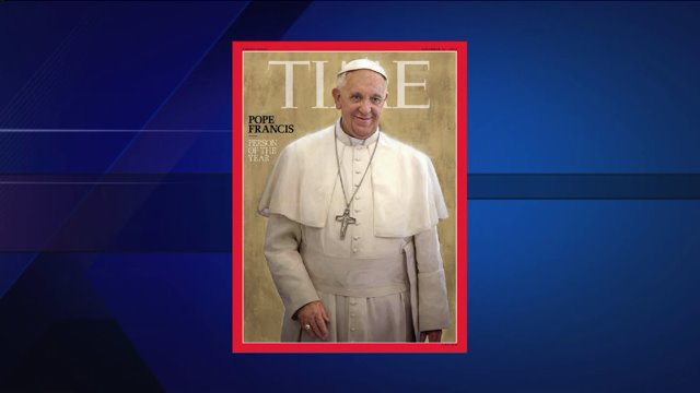 Pope Francis Time's 'Person of the Year'