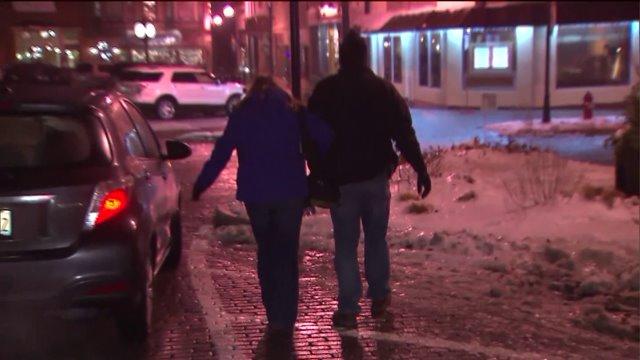 Freezing rain leads to weather advisory, slick roads