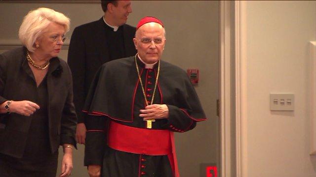 Cardinal George hospitalized with 'flu-like' symptoms