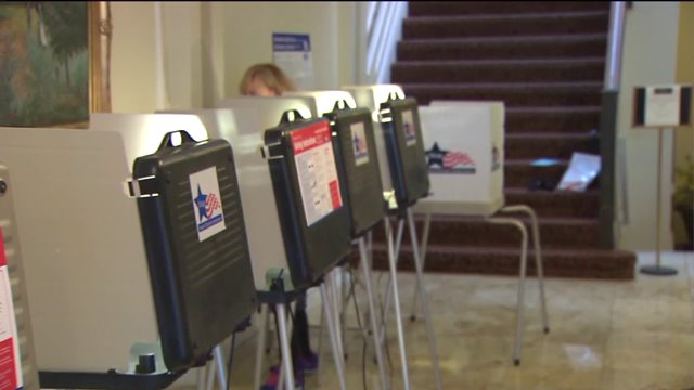 Primary election day polling locations open late due to obstacles