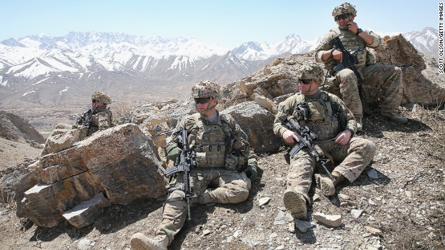 <> on March 30, 2014 in Pul-e Alam, Afghanistan.