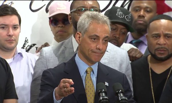Mayor Emanuel puts spin on new anti-violence strategy in Chicago