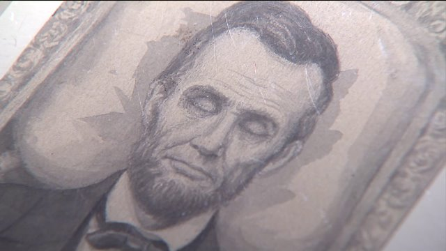 Rare sketch of Abraham Lincoln being sold for $175K