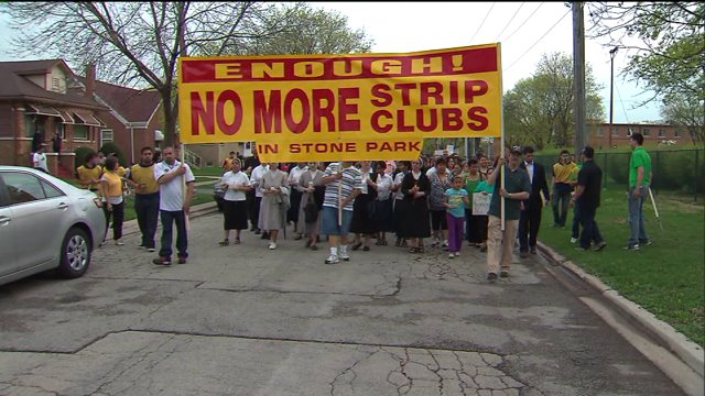 Nuns suing nearby strip club in Stone Park
