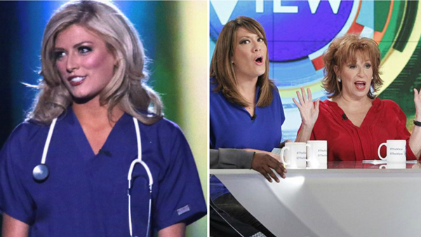 'The View' responds to nurses' backlash after Miss ...