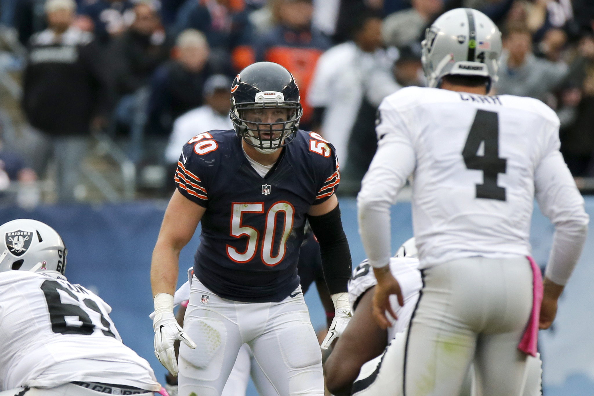 Former Bears linebacker Shea McClellin signs with the Patriots ...