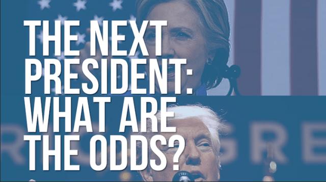 Trump clinton betting odds cashing in bitcoins