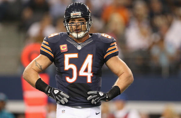 Former Bears linebacker Brian Urlacher is a nominee for the Pro ...