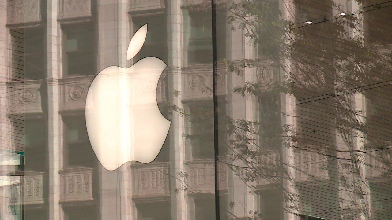 リンゴを一時的に閉店舗外より中国
