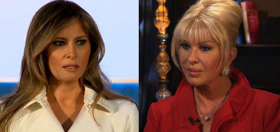 Melania Trump hits back at Ivana over first lady jibes