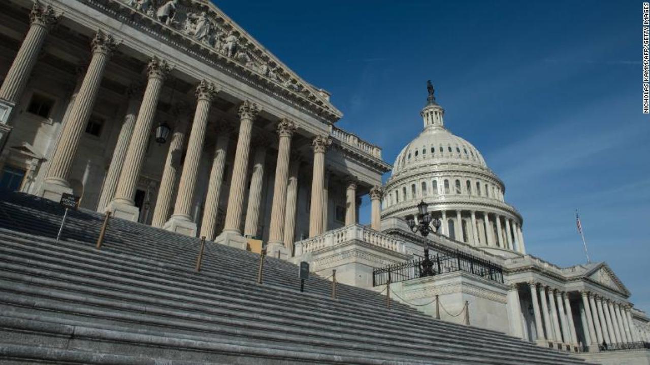 Spannungen hoch laufen auf dem Capitol Hill, wie der Senat arbeitet, um wirtschaftliche Impulse Voraus