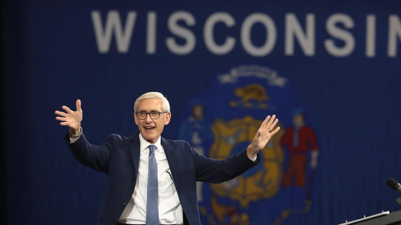 Wisconsin Gouverneur Bestellungen Verzögerung von Dienstag die Wahl zum Juni