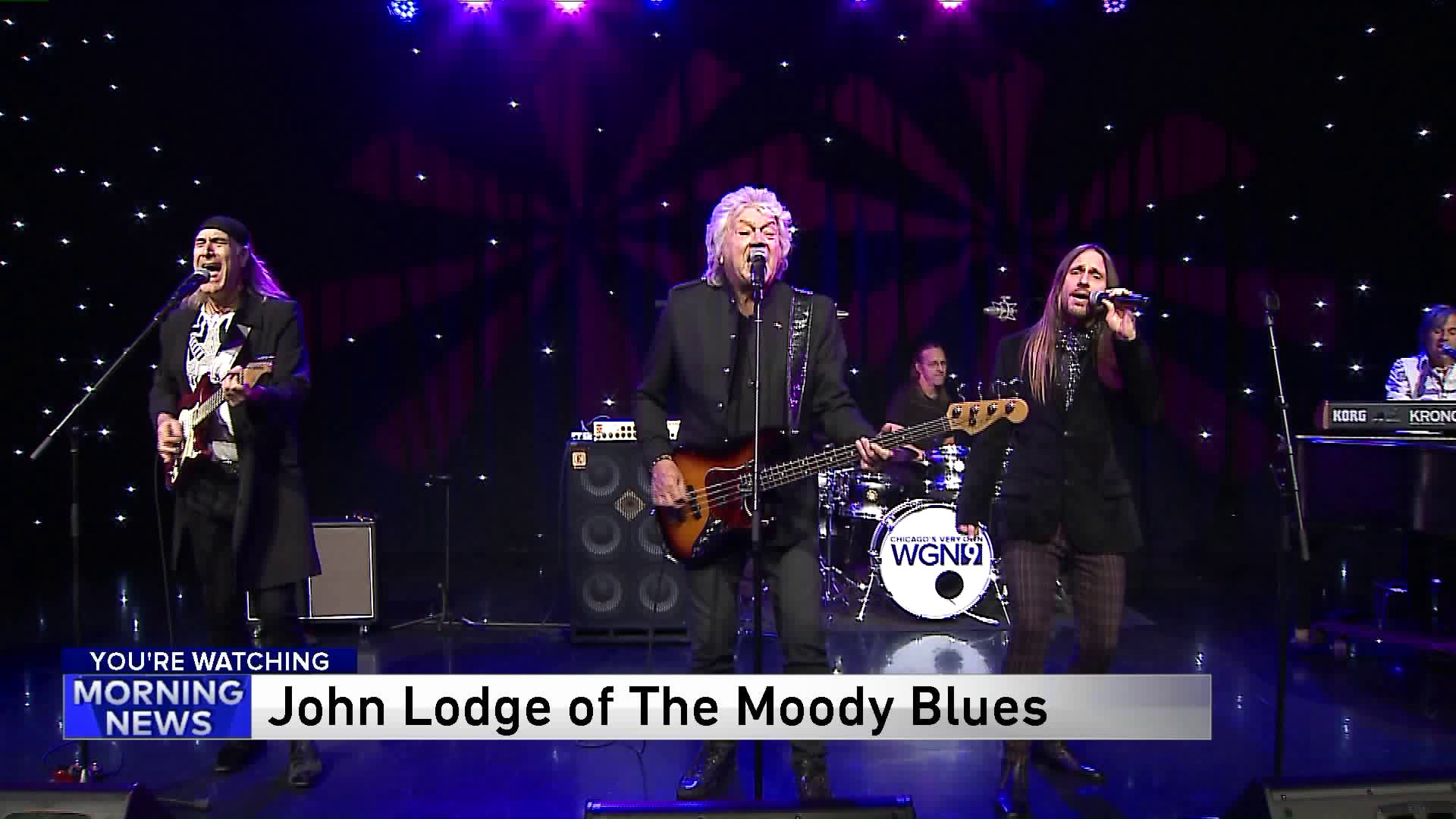 John Lodge Of The Moody Blues Performs Ride My See Saw Wgn Tv