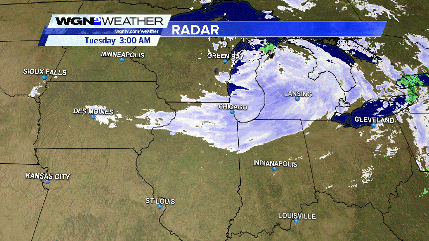 Winter Makes Its Return As Snow Blankets Chicago Area Overnight Wgn Tv
