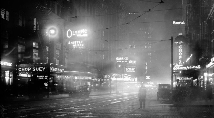 Randolph Street in 1922