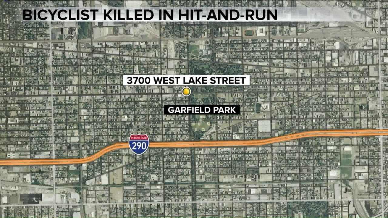 Radfahrer killed in hit-and-run in East Garfield Park
