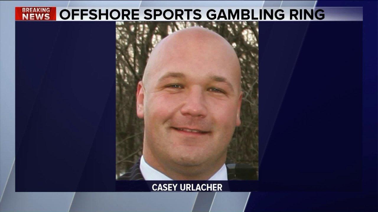 Brian Urlacher saudara karena di pengadilan federal di judi cincin kasus