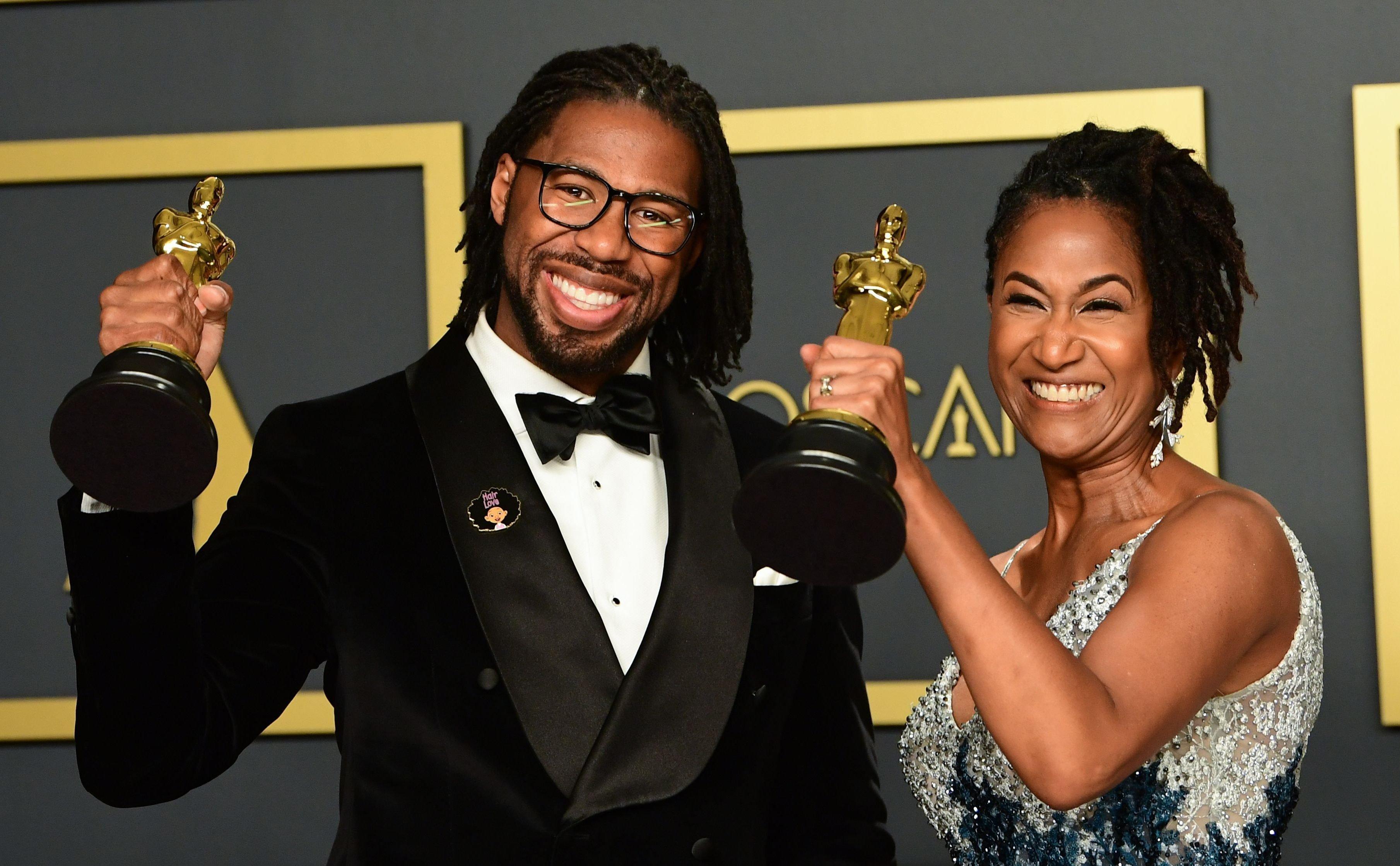 Chicago Native Matthew Cherry Wins Oscar For Best Animated Short Hair Love Wgn Tv