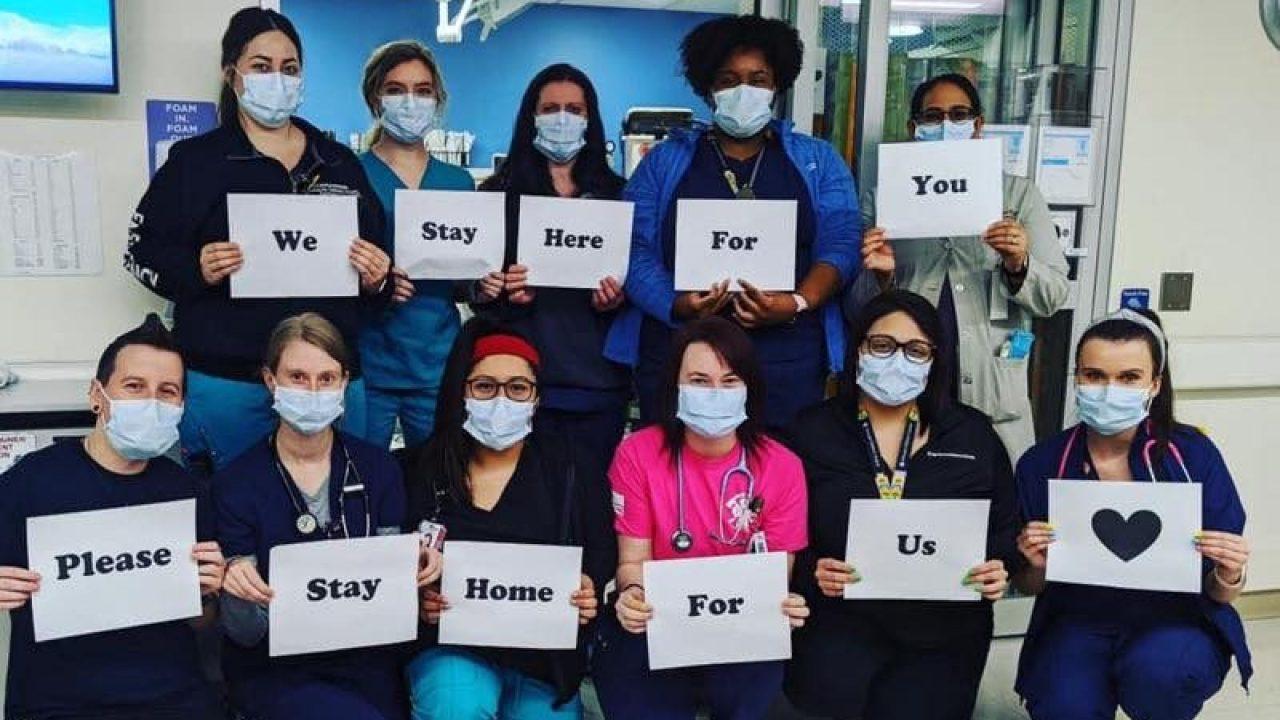 Chicago ist Sehr Eigenen Helden: Fotos von der Front des COVID-19-Pandemie