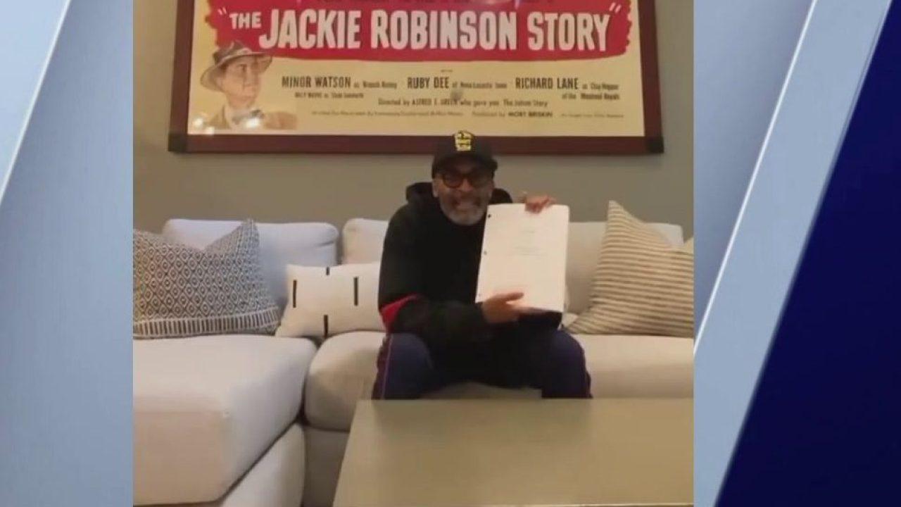 Spike Lee erzählt von ungemacht 'Jackie Robinson' Film-Skript für stay-at-home zu Lesen