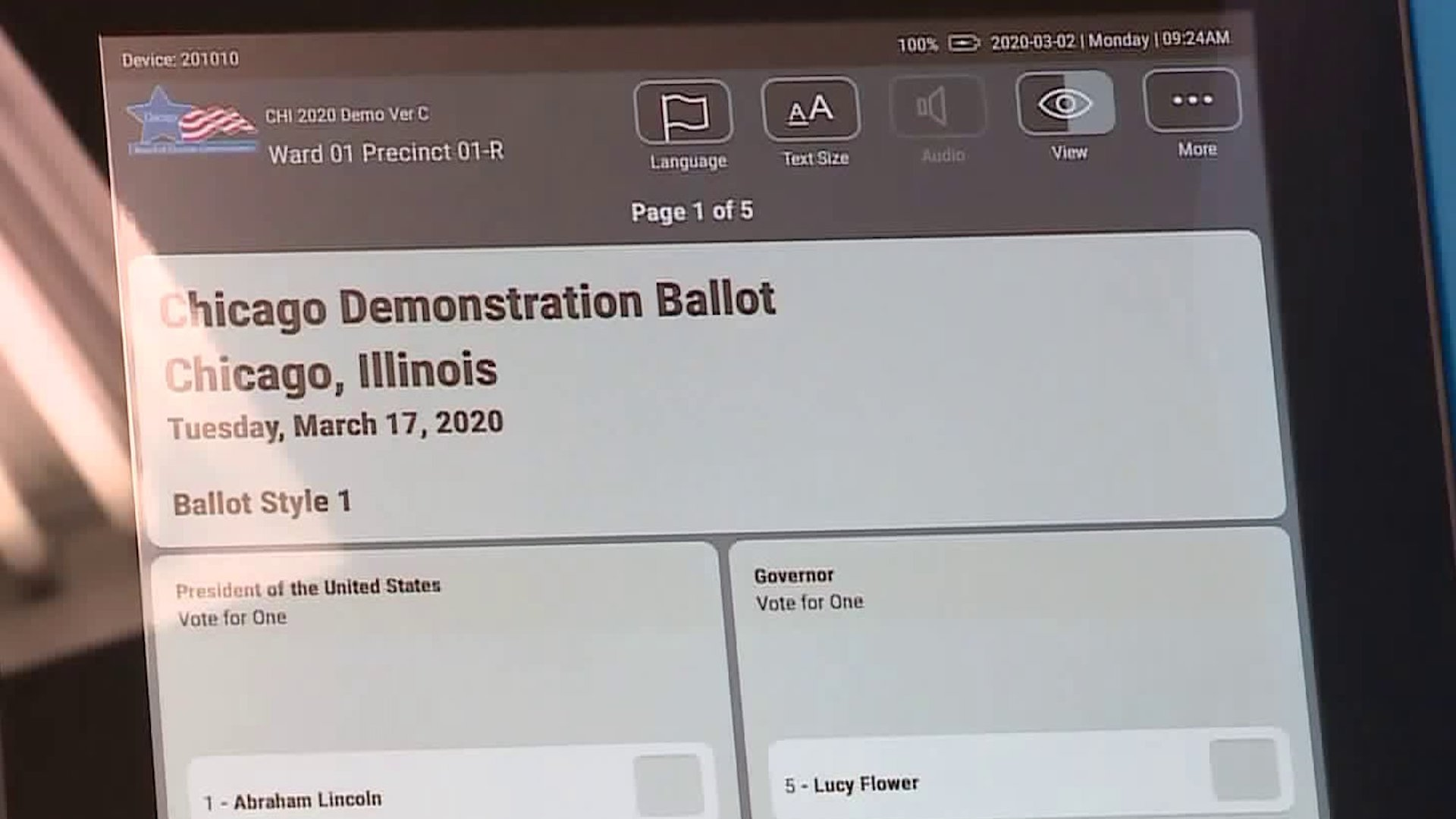 Early voting for 2020 Illinois ...