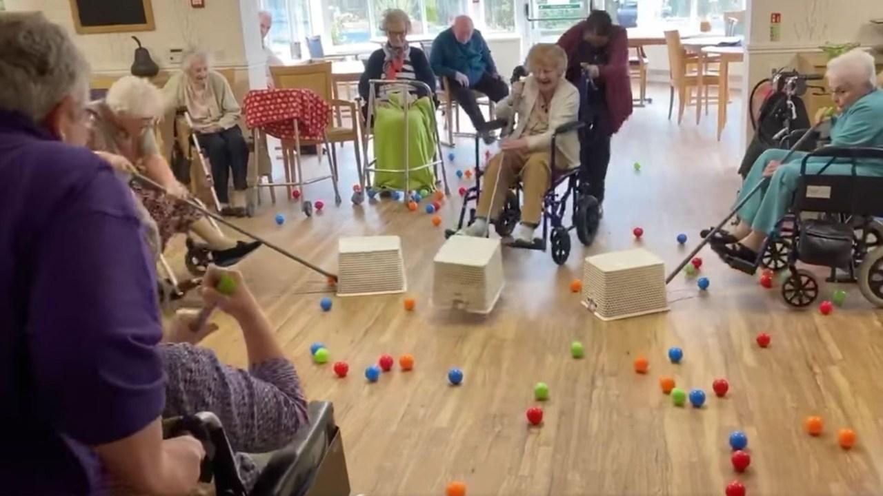 Γηροκομείο δημιουργεί ζωή-μέγεθος