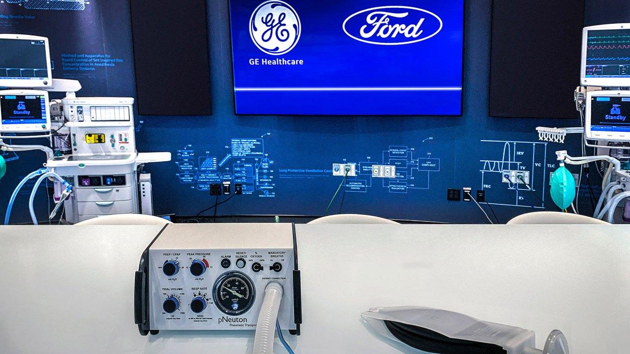 Ford να οικοδομήσουμε από 50.000 εξαεριστήρες σε 100 ημέρες