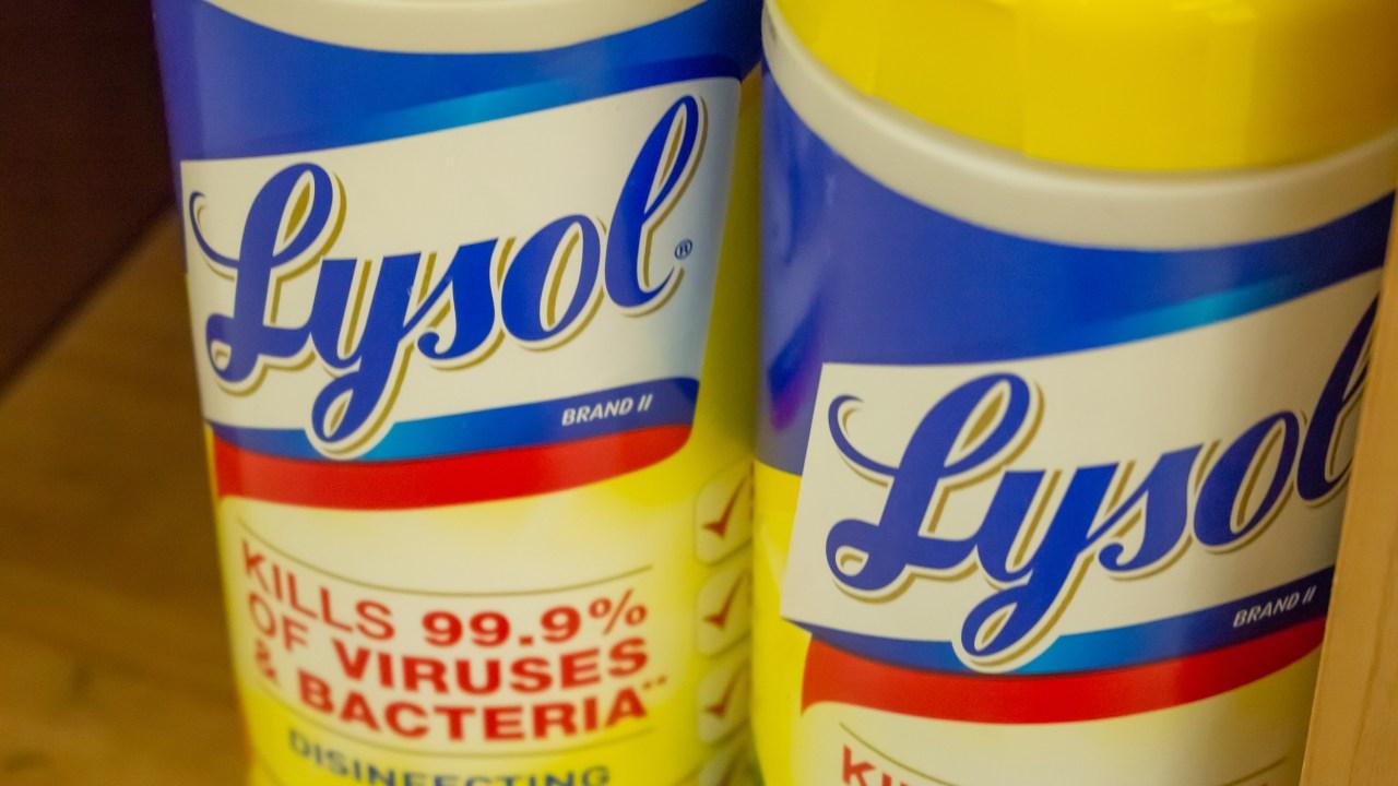 Kann Lysol und Clorox Produkte töten die neuartigen Corona-Virus bestätigt? Die Antwort ist kompliziert