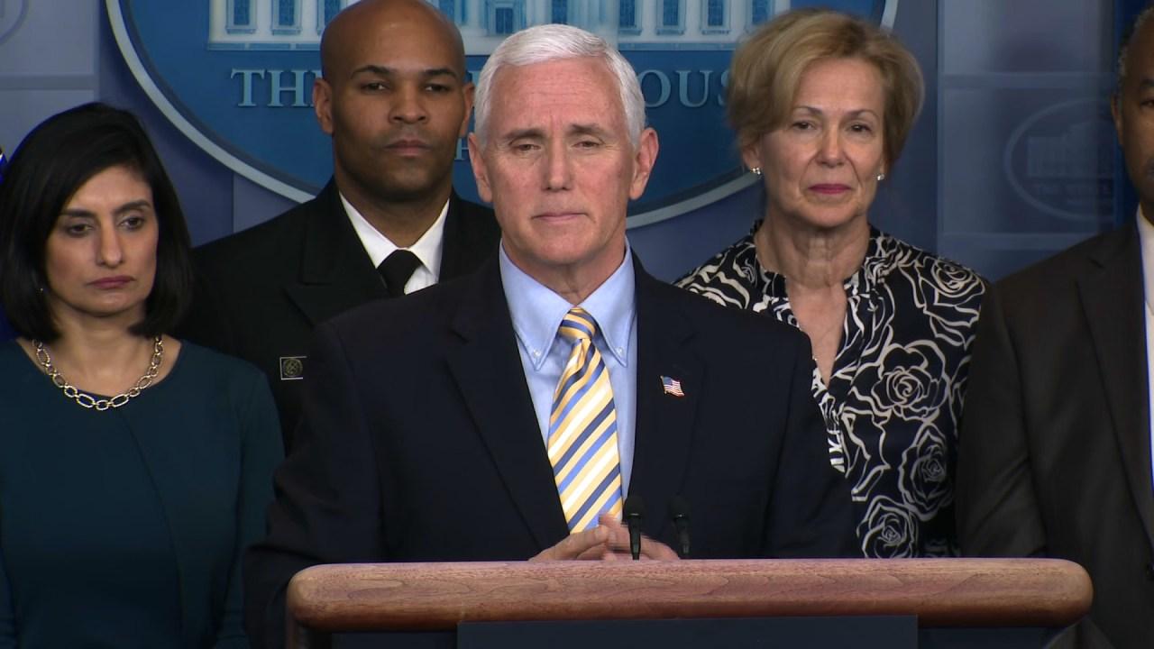 Υπάλληλος ο Αντιπρόεδρος Mike Pence γραφείο θετικό για coronavirus