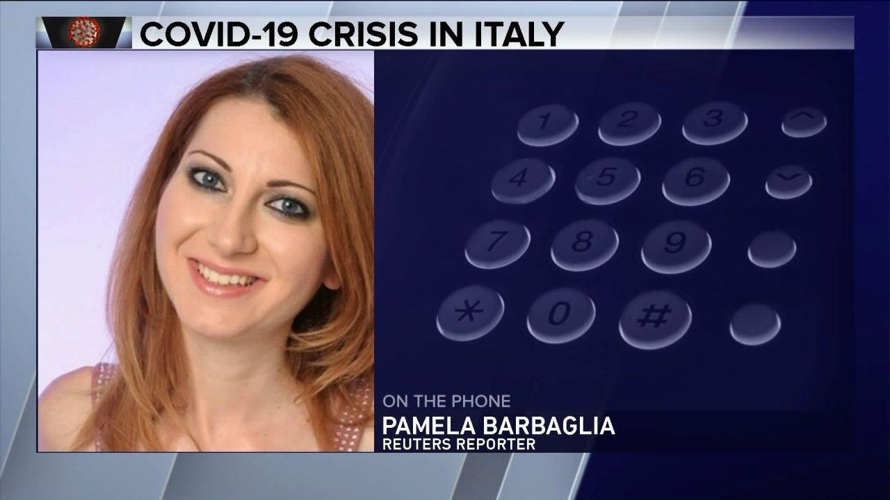 Μιλάμε Reuters Δημοσιογράφος, Πάμελα Barbaglia στο COVID-19 στην Ιταλία
