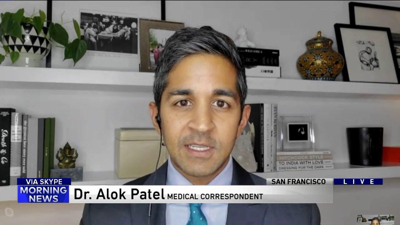 Ο δρ Alok Patel βοηθά να εξηγήσει τι γίνεται με τον περιορισμό της εξάπλωσης της COVID-19