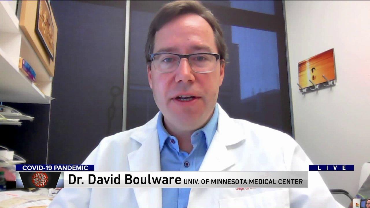 Ο δρ Ντέιβιντ Πιστεύω από το Πανεπιστήμιο της Minnesota Medical Center