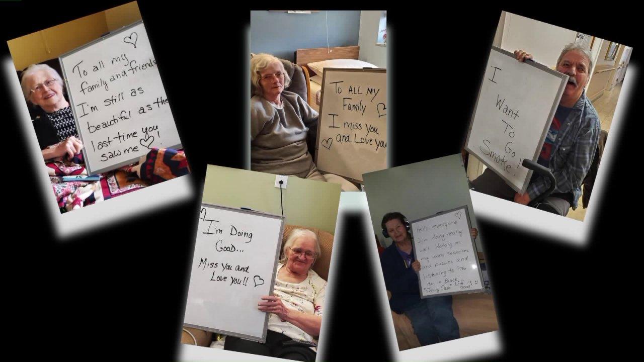 'Ξηρό Συμβούλιο Διαγράψει Ντάρλινγκ: γηροκομείο γίνεται δημιουργικός με μηνύματα στους αγαπημένους