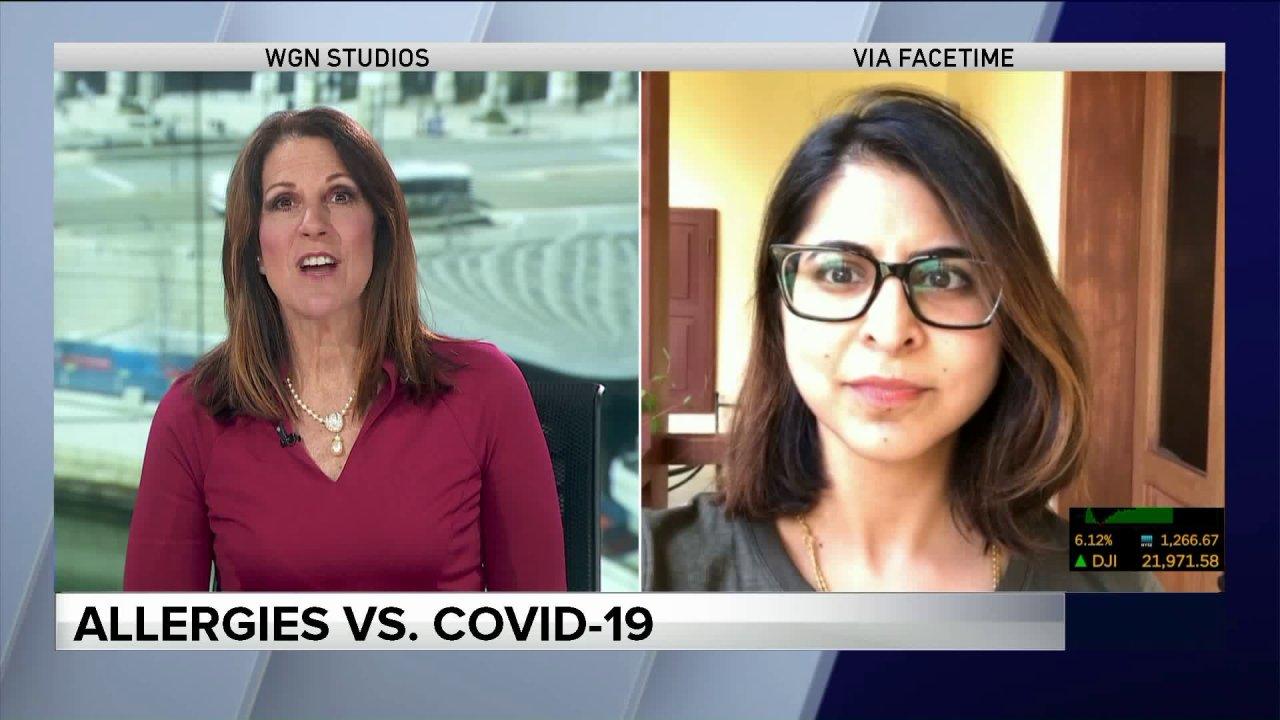 COVID-19: Allergien gegen Covid-19-Symptome