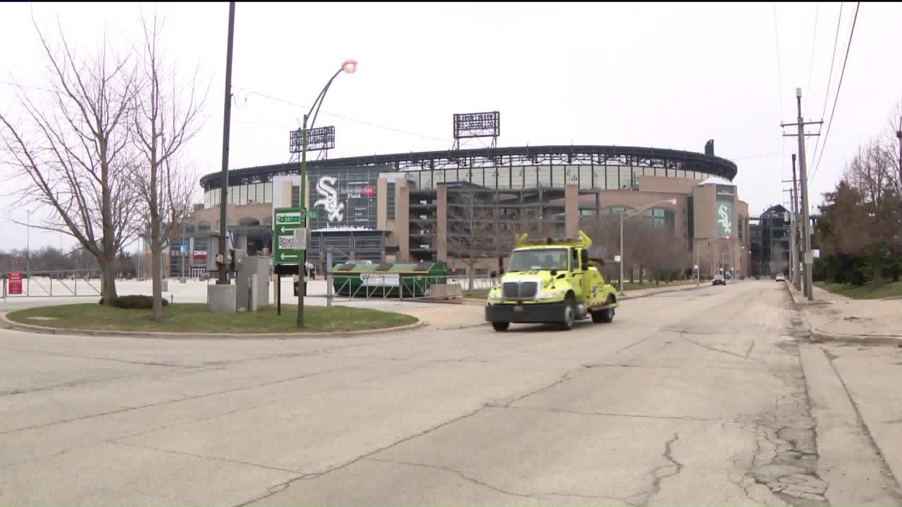 Selbst auf leeren Südseite, White Sox-fans Hoffnung zeigen