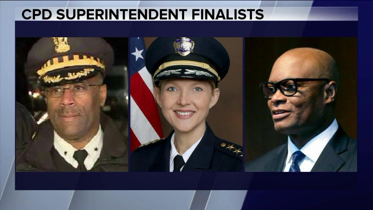 3 finalis yang dipilih untuk Chicago inspektur polisi: laporan