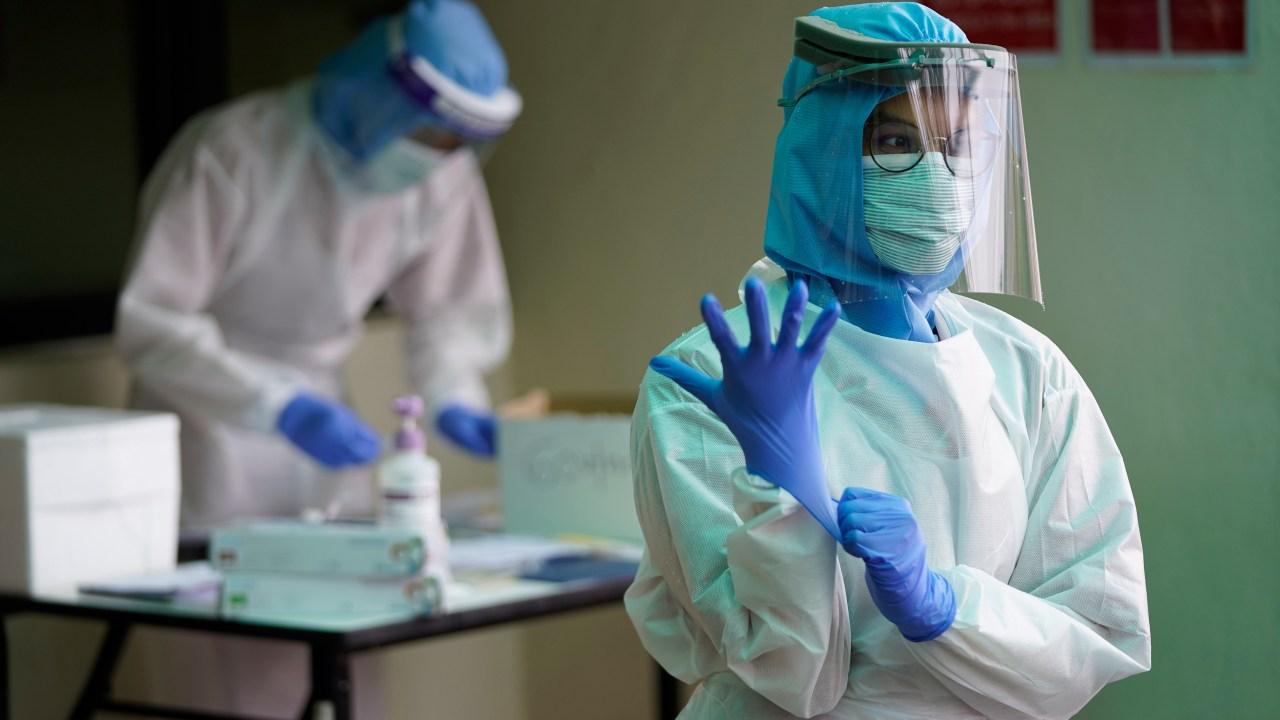 Weltweit COVID-19 Fällen tops 1 Mio.