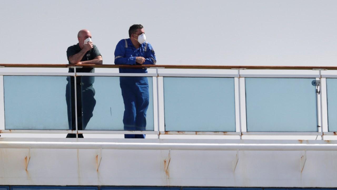 Lain kapal pesiar dengan virus korban docking di Florida