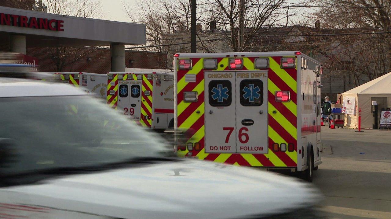 COVID-19 Fällen um bis 66 Prozent der ICU Bett der Patienten in Illinois