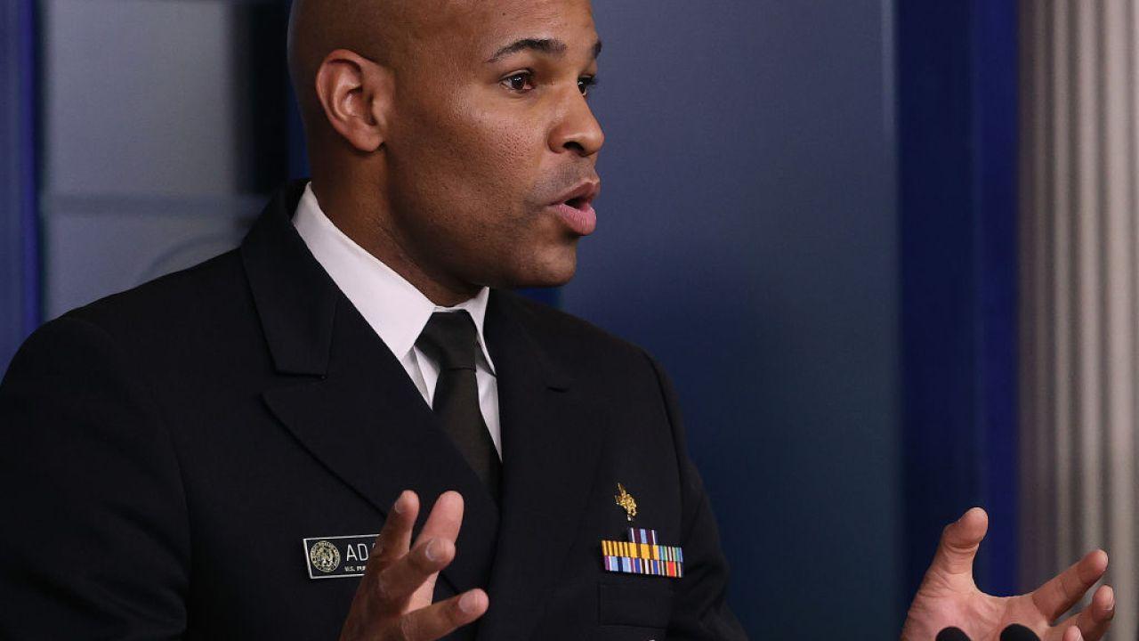 Surgeon General warnt Amerikaner die Klammer für die