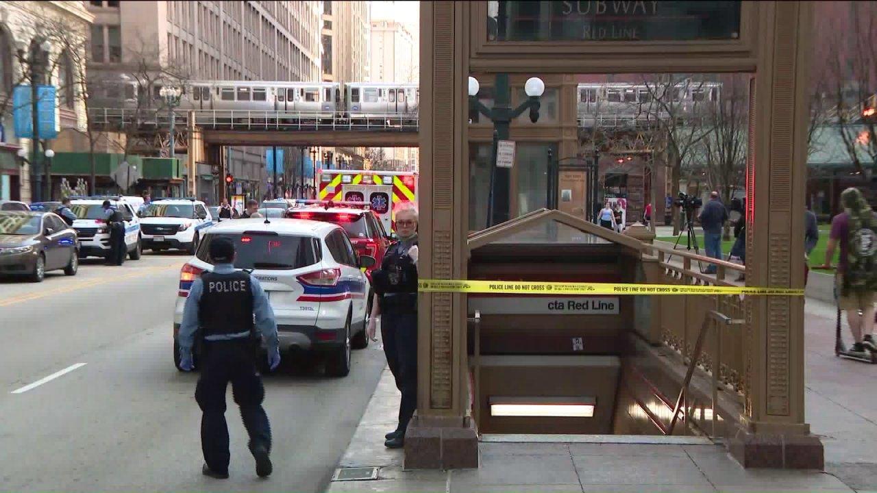 Pria fatal dipukul oleh CTA Garis Merah kereta api di Loop